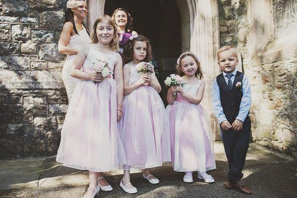 Flowergirls Pageboy Classic Elegant Pink Wedding http://www.annahardy.co.uk/