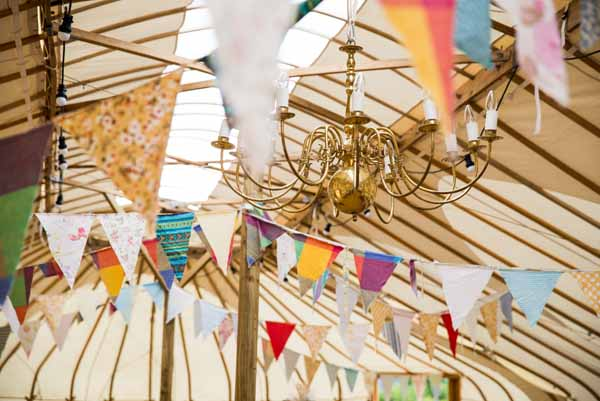 Bunting Country Fair Farm Outdoor Wedding http://martamayphotography.co.uk/