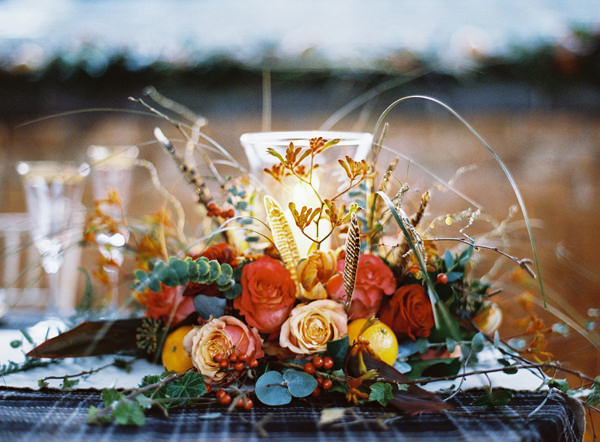 Rustic Christmas Wedding Ideas http://www.victoriaphippsphotography.co.uk/