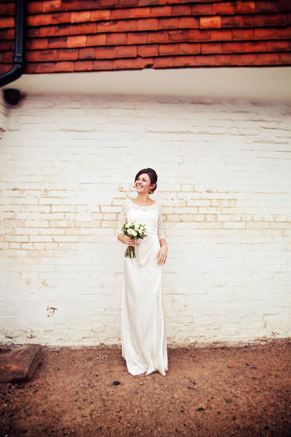 Quirky Pub Wedding Ghost dress bride http://www.fitzgeraldphotographic.co.uk/