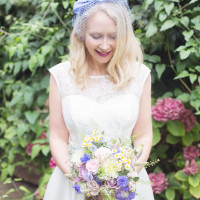Sweet Quirky Blue Wedding http://www.juliaandyou.com/