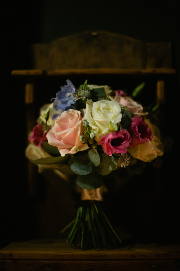 Stylish Country Fair Wedding Rose Bouquet http://www.lucyturnbull.co.uk/