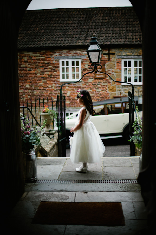 Stylish Country Fair Wedding Flowergirl http://www.lucyturnbull.co.uk/