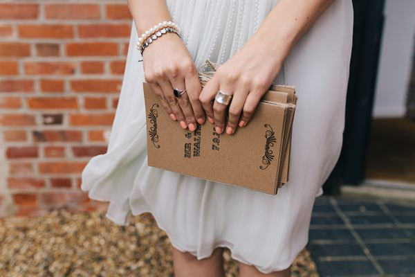 Charming Outdoors Barn Wedding Brown Paper Stationery http://www.brighton-photo.com/
