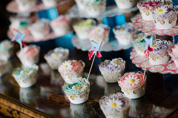 Fun Colourful Country Wedding Cupcakes Pinwheels http://mattbowenphotography.co.uk/