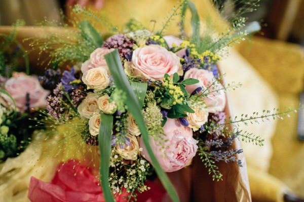 Relaxed Colourful Pretty Wedding Cottage Garden Bouquet http://www.daffodilwaves.co.uk/
