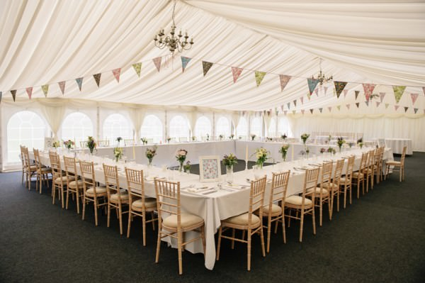 Relaxed Colourful Pretty Wedding Marquee http://www.daffodilwaves.co.uk/