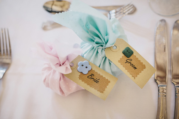 Charming Pretty Pastel Country Wedding Fabric Favours http://www.helenlisk.blogspot.co.uk/