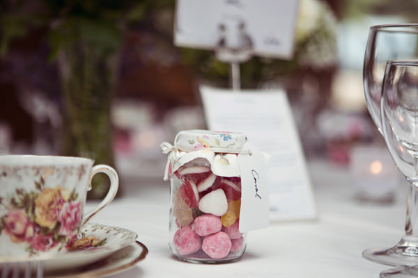 Cottage Garden Feel Cotswolds Wedding Sweet Favours http://www.suekwiatkowska.com/
