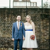 Multicoloured & Quirky Islington Metal Works Wedding