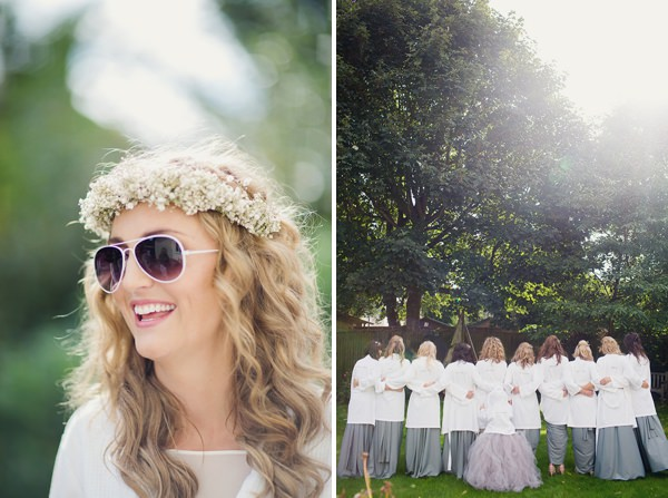 Bohemian Rustic Country Chic Wedding Sunglasses Bride http://www.lifelinephotography.co.uk/