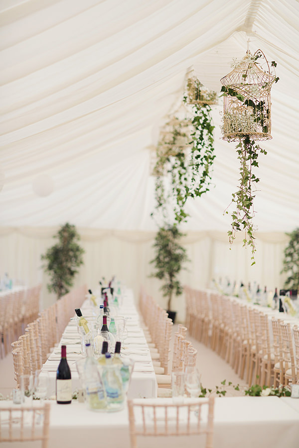 Bohemian Rustic Country Chic Wedding Birdcage Ivy http://www.lifelinephotography.co.uk/