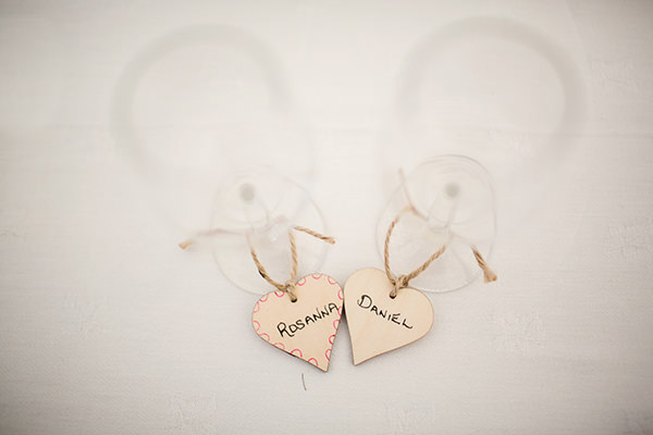 Bohemian Rustic Country Chic Wedding Heart Place Names http://www.lifelinephotography.co.uk/