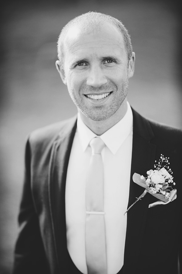 Bohemian Rustic Country Chic Wedding Black Suit Groom http://www.lifelinephotography.co.uk/