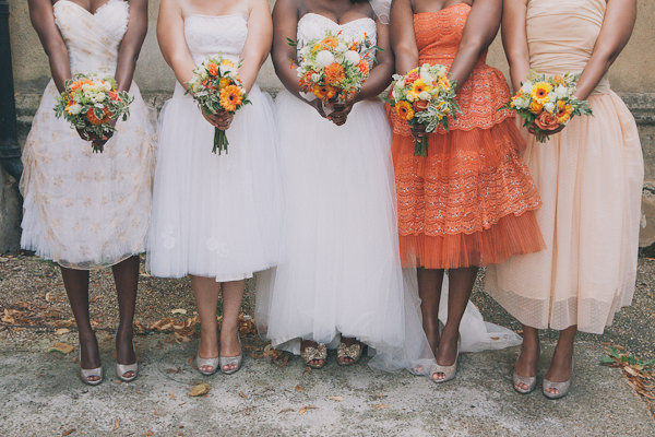Bridesmaid Fashion // Blush Peach & Orange