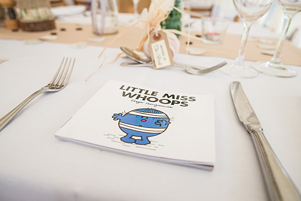Rustic Country Homemade Wedding Book Favour Children http://martamayphotography.co.uk/