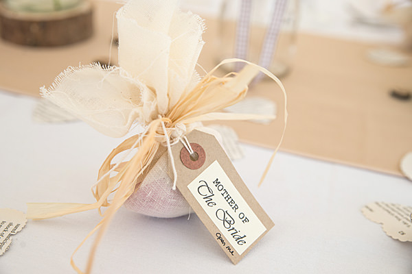 Rustic Country Homemade Wedding Favour http://martamayphotography.co.uk/
