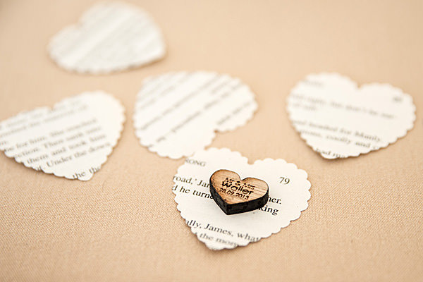 Rustic Country Homemade Wedding Paper Confetti Table http://martamayphotography.co.uk/