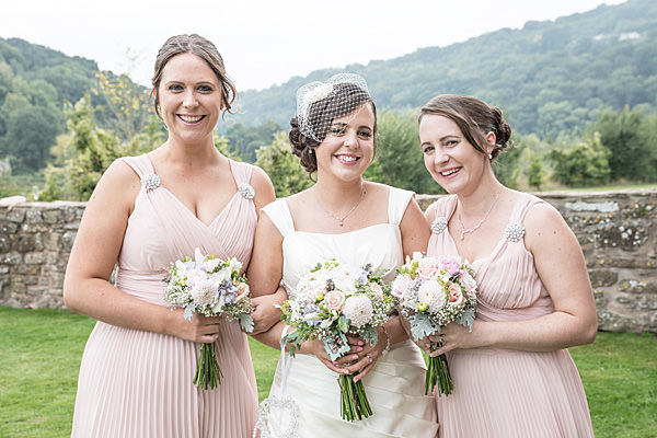 Rustic Country Homemade Wedding Pink Bridesmaid Dresses http://martamayphotography.co.uk/