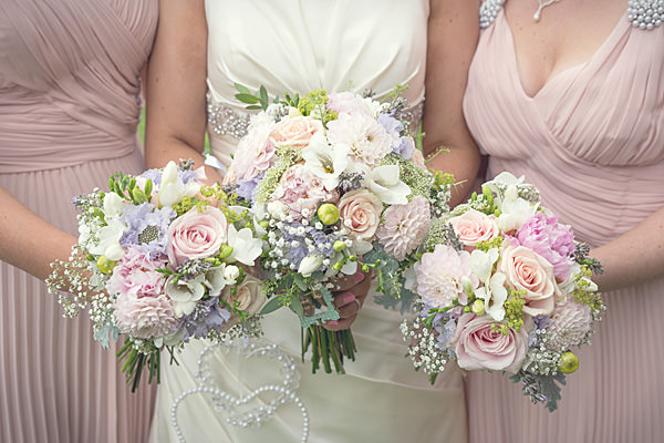 Rustic Country Homemade Wedding Pastel Bouquets Pretty Summer http://martamayphotography.co.uk/