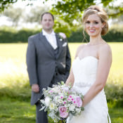 Pretty & Colourful Country Garden Wedding