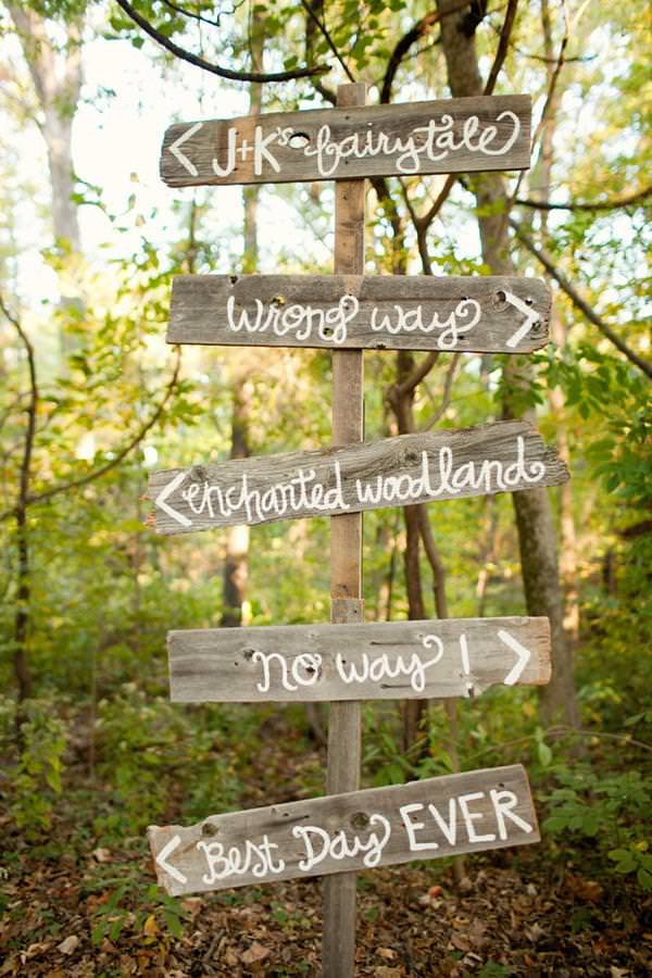 Rustic Wedding Sign http://www.morgantrinker.com/