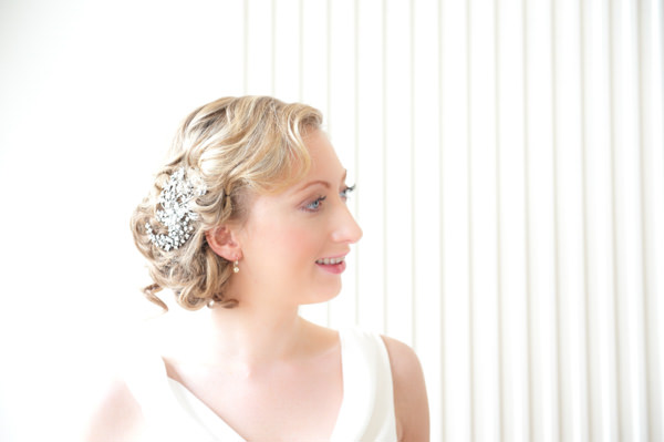 Elegant Art Deco Scottish Highlands Wedding Elegant Bride Hair 1920s  http://www.brownsphoto.co.uk/
