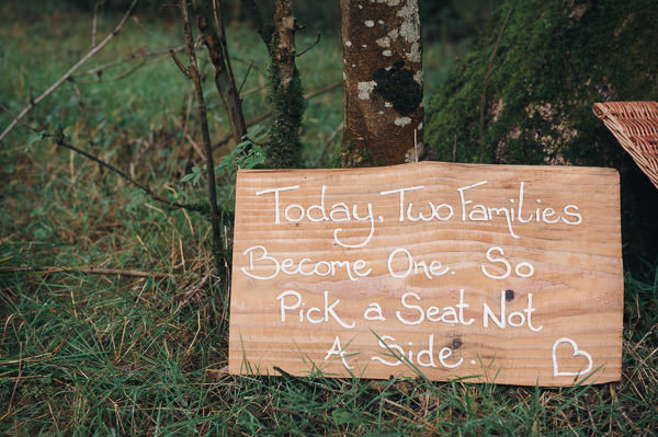 Take a Side Wedding Sign http://www.tinoandpip.co.uk/