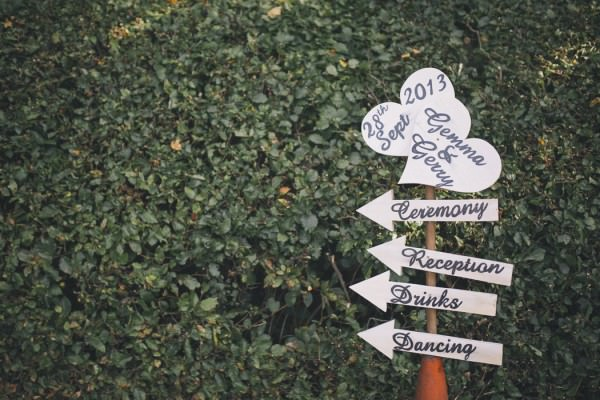 Heart Wedding Sign http://emmalawsonphotography.com/