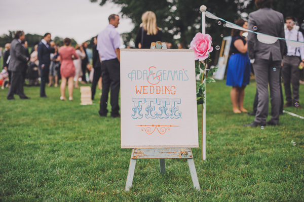 Fete Wedding Sign http://www.bigbouquet.co.uk/