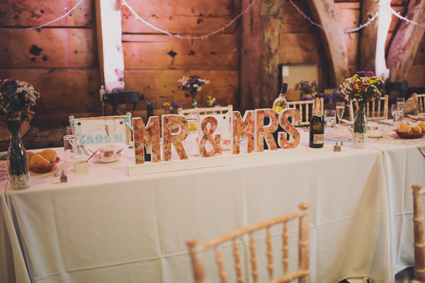 Letter Wedding Sign http://www.bigbouquet.co.uk/