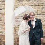 Vintage Gold London Wedding with Cameras & Swans