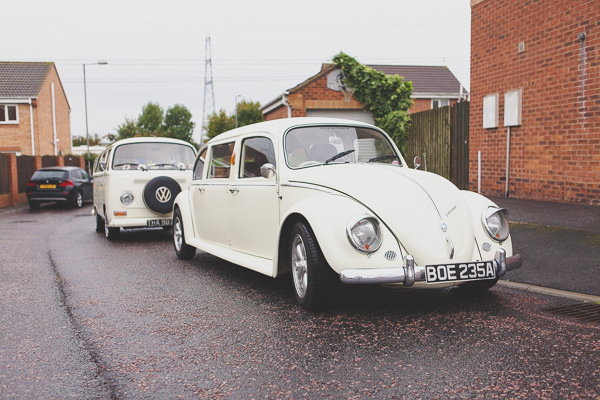 Relaxed Rustic Stylish Wedding VW Beetle Camper http://www.bloomweddings.co.uk/
