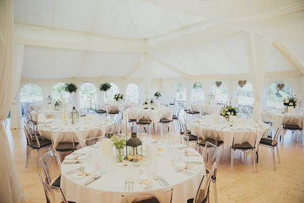 Beautiful Natural Countryside Wedding Marquee http://www.benselwayphotography.co.uk/