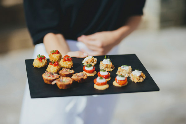 Beautiful Natural Countryside Wedding Canapes http://www.benselwayphotography.co.uk/