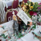 Personal Homemade Village Hall Tea Party Wedding