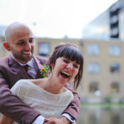 Informal & Quirky Canal Museum Wedding