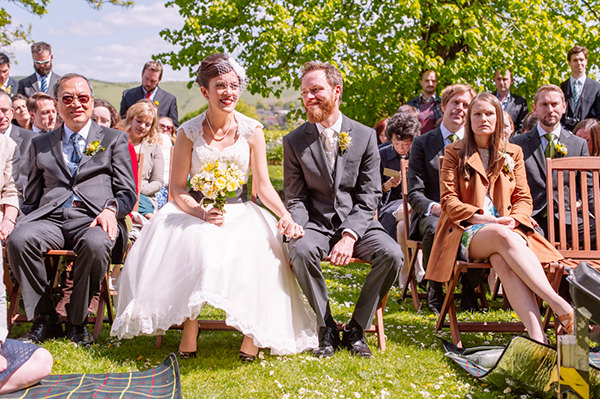 Homemade Natural Outdoor Castle Wedding http://www.annapumerphotography.com/
