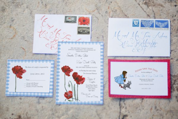 Wizard of Oz Wedding Invitaion http://www.jkbyoung.com/