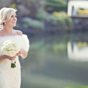 White Classic Hollywood Glamour Wedding