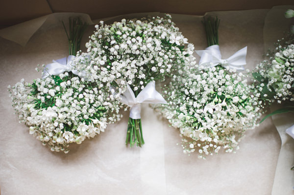 Rustic Stylish Great Fosters Wedding White Bouquets Bridal  http://karenflowerphotography.com/