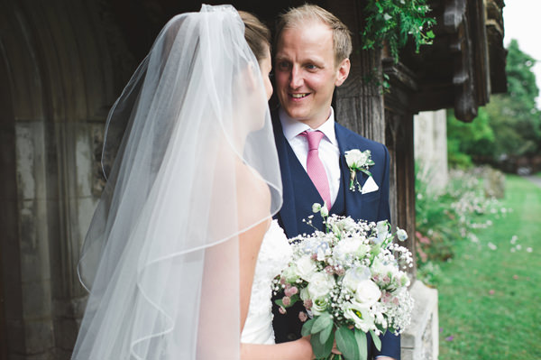 Rustic Stylish Great Fosters Wedding Veil Bride Sassi Holford Accessory http://karenflowerphotography.com/