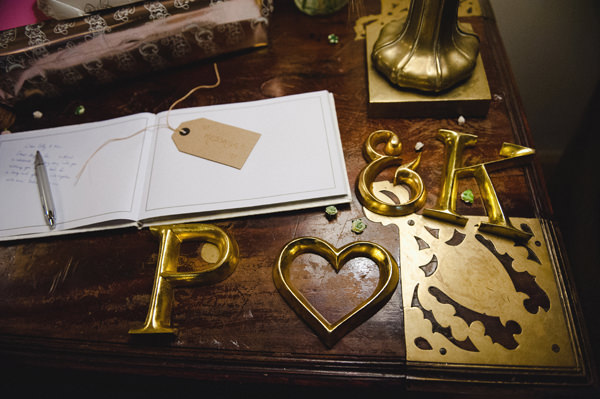 Rustic Stylish Great Fosters Wedding Guest Book http://karenflowerphotography.com/