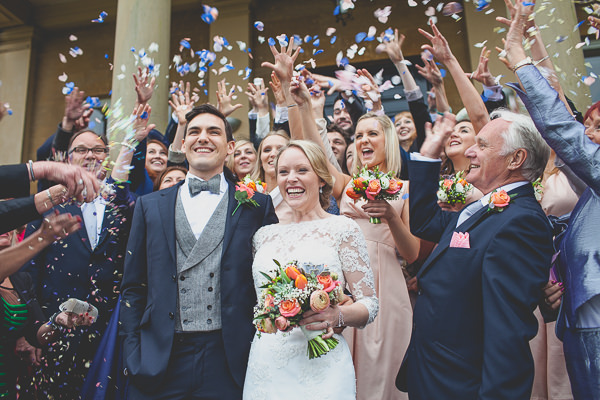 Traditional Stylish English Coral Wedding At Rudding Park Hotel Yorkshire Whimsical Wonderland Weddings