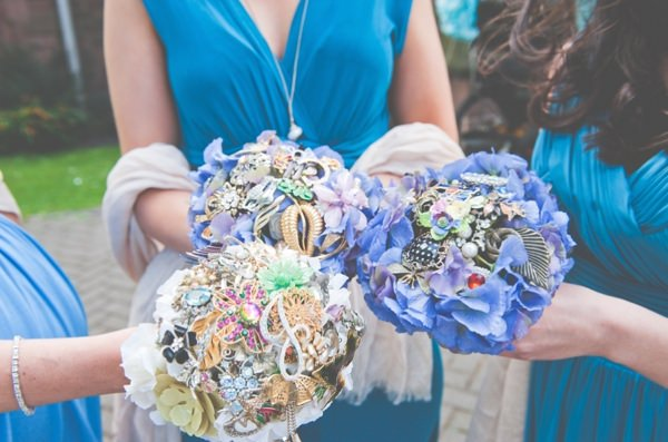 Bridesmaid Present Brooch Bouquet http://lisahowardphotography.co.uk/