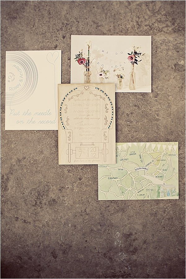 Rustic Wooden Wedding Stationery Invitaion  Http://www.annaclarkephotography.com/ Http