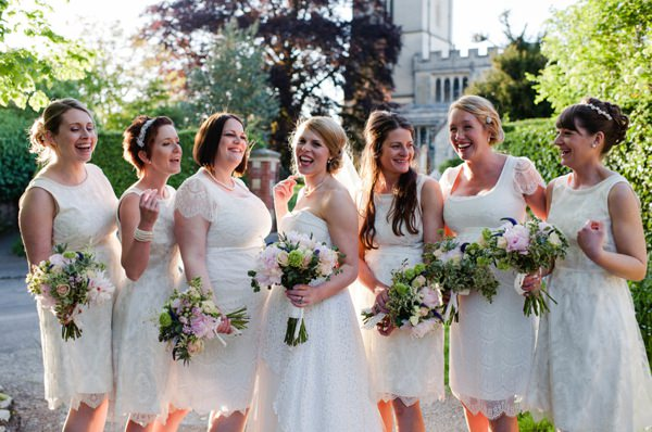 White Bridesmaids Ideas Fashion Style http://www.alexa-loy.com/
