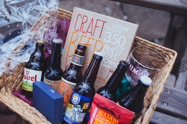 Vintage Colourful Windmill Wedding Beer Hamper Gift http://www.gavinphotography.co.uk/