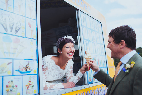 Vintage Colourful Windmill Wedding Ice Cream http://www.gavinphotography.co.uk/