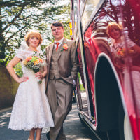 1950s Vintage Floral Hand Made Wedding http://www.andyli-photography.com/